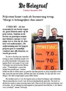 Commodity Trap Telegraaf