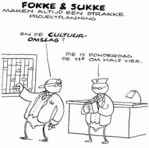Cultuurverandering a la Fokke & Sukke